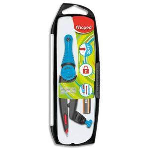 RAPPORTEUR - COMPAS Lot de 3 Compas Stop and Safe à bague + 1 crayon m