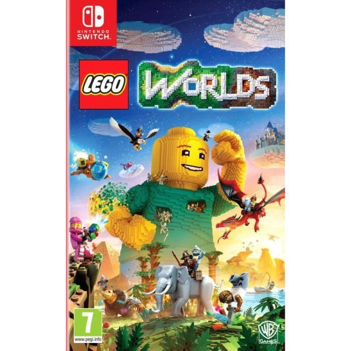 lego worlds jeu switch - achat / vente jeu nintendo switch lego
