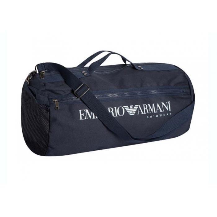 Armani Sac de sport pour homme - Couleur - Bleu marine, - Prix pas ... 8099298a7c4