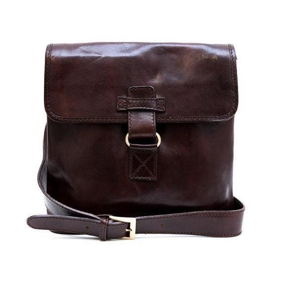 Bandoulière en cuir sac homme sac à bandoulière messenger en cuir sac dépaule sac postier marro
