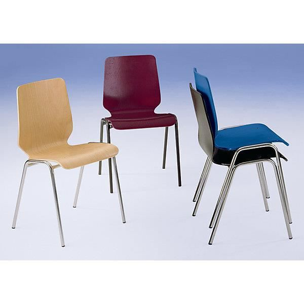 chaise chaise coque en bois assise et dossier dun bloc - Chaise Coque