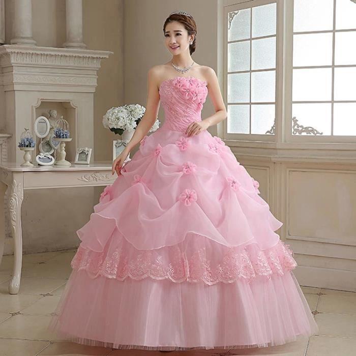 Robe De Marriage Rose Robes A La Mode Et Populaires 2018
