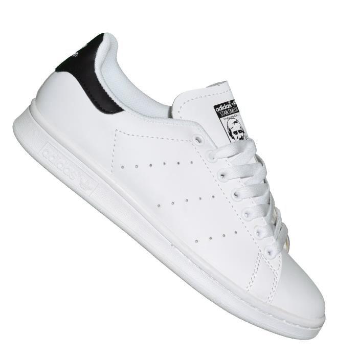 pas cher pour réduction 8a7c0 b3061 Adidas Originals - Baskets - Femme - Stan Smith - Blanc Noir ...