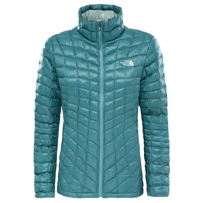ed31aec6fd Vêtements femme Vestes isolées The North Face Thermoball Full Zip ...