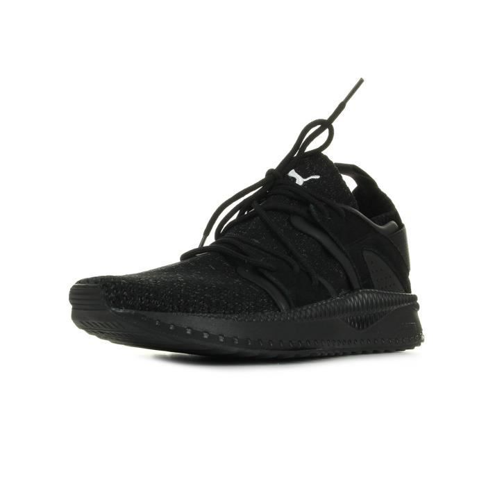 90e5acfd07787 Baskets Puma TSUGI Blaze evoKNIT Noir Noir - Achat   Vente basket ...