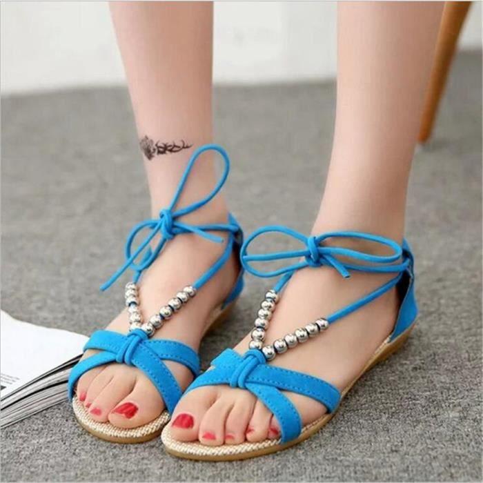 Plusieurs Couleurs éLastique Tongs 39 Femme Loisirs 35 Classique Chaussures sandale gwYqEq0A