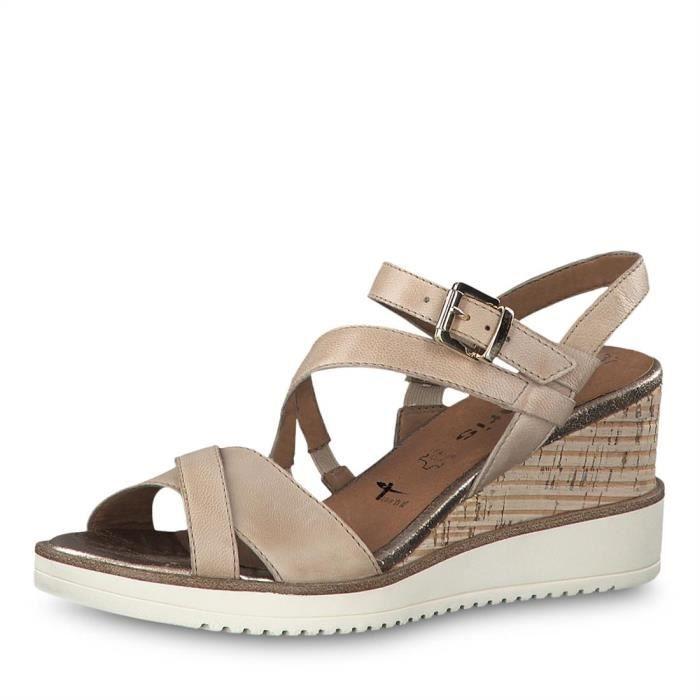 Sandales, nu pieds Tamaris Femme : Sandales, nu pieds jusqu