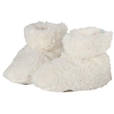BARTS - Chaussures fourrure polaire blanc ivoire bébé garçon du 3 au 12 mois Barts