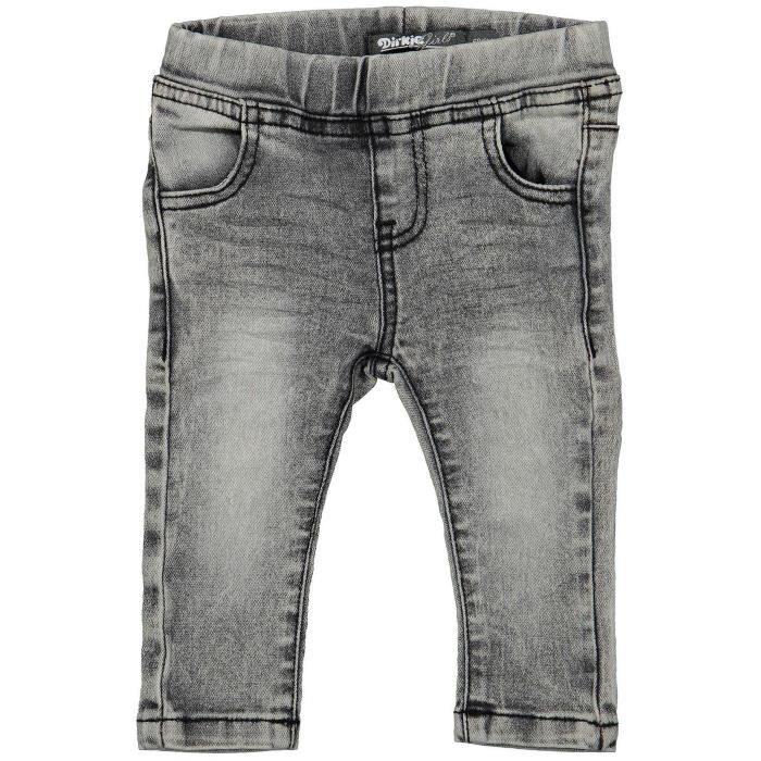 DIRKJE Jeans Gris Enfant Fille