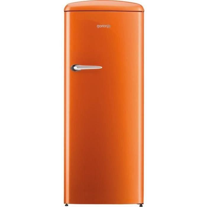 GORENJE ORB-153O - Réfrigérateur armoire freezer haut - 254 L (235L + 25L) - Froid brassé - A+++ - L