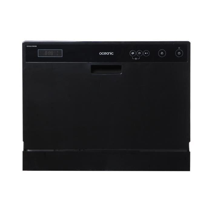 oceanic lvc653b lave vaisselle posable 6 couverts. Black Bedroom Furniture Sets. Home Design Ideas