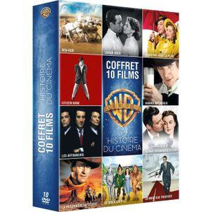 DVD SÉRIE Coffret DVD Histoire du cinéma, 10 films