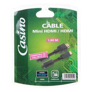 CASINO Câble HDMI mini HDMI M/M