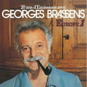 VINYLE VARIÉTÉ INTERN. 20 ans d'émissions avec Georges Brassens à Europe…