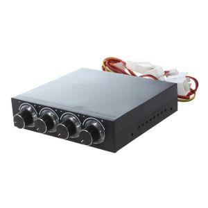 VENTILATEUR MOTEUR 4 Canaux 4 Broches Connecteur LED Bleu PC Controle