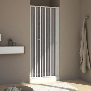 porte de douche paroi douche 70 cm h185 en plastique pvc modle au - Douche Italienne Dimension1752
