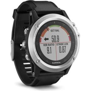 GPS PEDESTRE RANDONNEE  Montre sport GARMIN Fénix 3 Silver HR