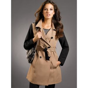 Imperméable - Trench Trench bicolore Femme Venca