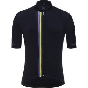 3c9c228086ab4 MAILLOT DE CYCLISME Santini UCI - Maillot manches courtes Homme - noir