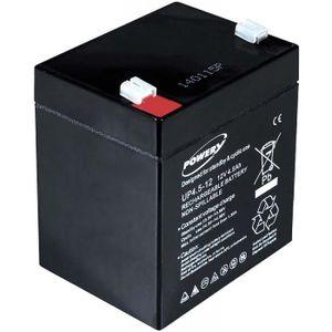 BATTERIE VÉHICULE Batterie gel-plomb Powery pour APC Back-UPS ES500