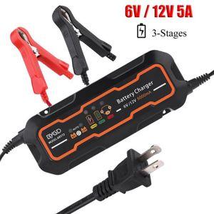 CHARGEUR DE BATTERIE Chargeur de batterie intelligent automatique 6V /