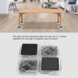 elevateur de pieds de lit achat vente pas cher. Black Bedroom Furniture Sets. Home Design Ideas