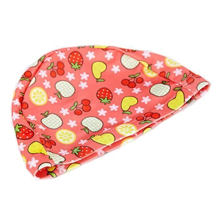 Tricoté Natation beau fruit enfants Caps bébé Bonnet de bain, Light Rouge 5fc279c50c8
