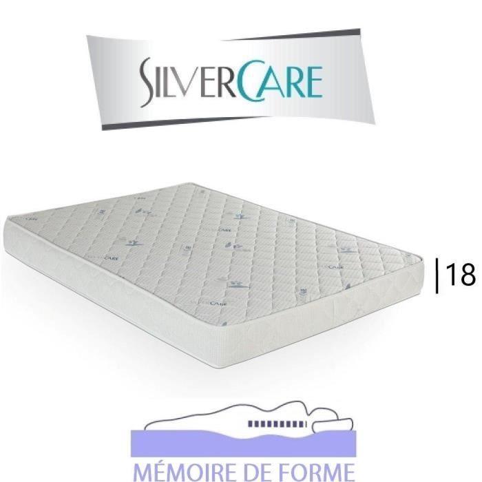 Mémoire Épaisseur ConvertibleCouchage 18cm 200cm Canapé Pour Forme Memory 160 50kgm3 Matelas De WEIeH2YD9