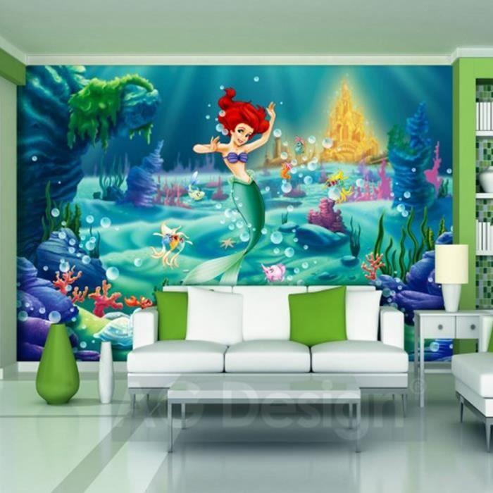 Papier peint XXL La Petite Sirène Princesse Disney - Achat / Vente ...