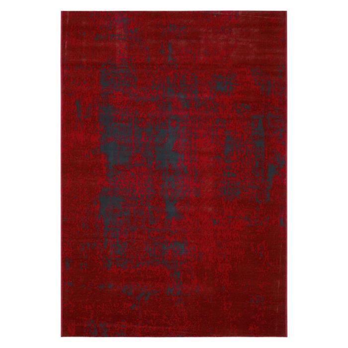 Vintage Tapis Moderne Tisse En Velours Polypropylene 160x230 Cm