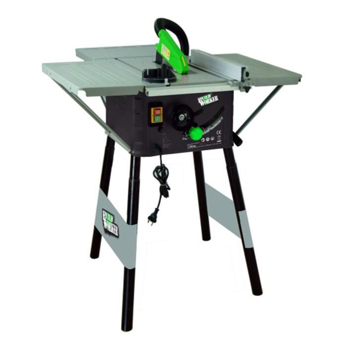 Build 250 Mm Worker Table Lame 1500w 36 Scie Circulaire Dents H29WEDI