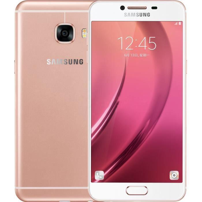 samsung galaxy c5 c5000 t l phone portable debloqu cran. Black Bedroom Furniture Sets. Home Design Ideas