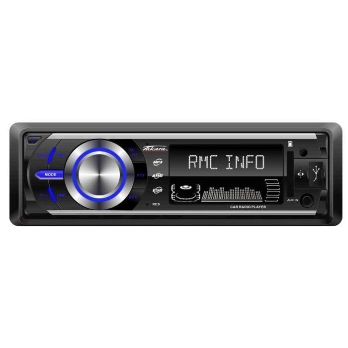 AUTORADIO TAKARA RDU1540 Autoradio Bluetooth SD USB AUX