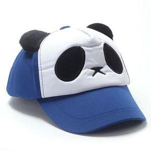 ec1ab76ee64 ... CASQUETTE Younege  Enfants garçons filles coton mignon panda ...