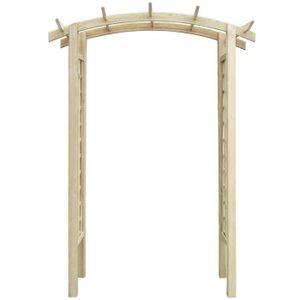 Arceau jardin bois achat vente arceau jardin bois pas for Arche de jardin en bois