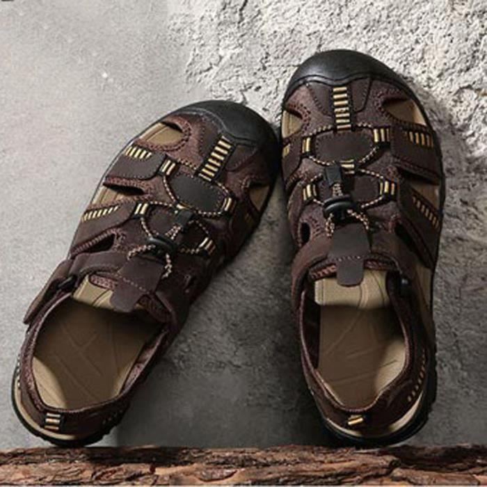 Chaussures Hommes Mode Tendance Jeunesse Sandales Soft Light Cutout
