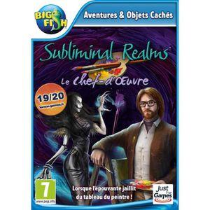 JEU PC Subliminal Realms Le Chef-d'œuvre Jeu PC