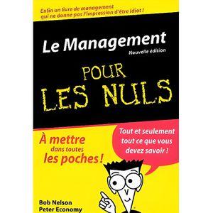 LIVRE MANAGEMENT Le Management pour les Nuls