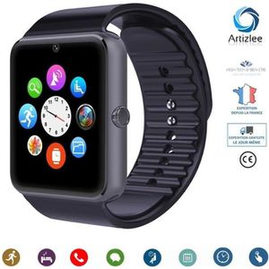 BRACELET MONTRE CONNEC. ARTIZLEE® Montre Connectée, Bluetooth Smartwatch M