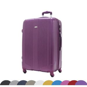 VALISE - BAGAGE  Grande Taille 75cm,ABS ultra Léger - 4 roues - Vi