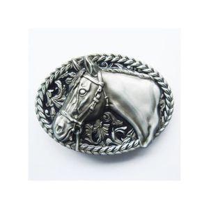 ea1f4b352a04 CEINTURE ET BOUCLE boucle de ceinture tete de cheval homme femme coun