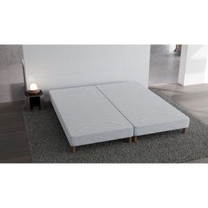 sommier tapissier 90x190 avec pied achat vente sommier tapissier 90x190 avec pied pas cher. Black Bedroom Furniture Sets. Home Design Ideas