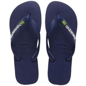 TONG Retourner Logo Flops Enfants Brasil 3PU64V Taille-