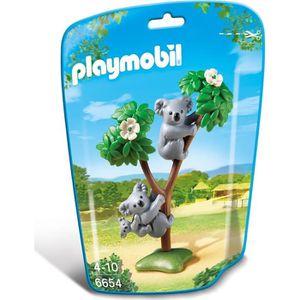 UNIVERS MINIATURE PLAYMOBIL 6654 - Le Zoo - Koalas