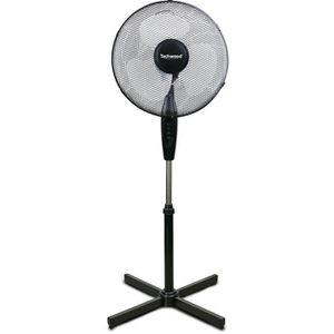 VENTILATEUR TECHWOOD 40 watts Ventilateur sur pied 40cm - 3 vi