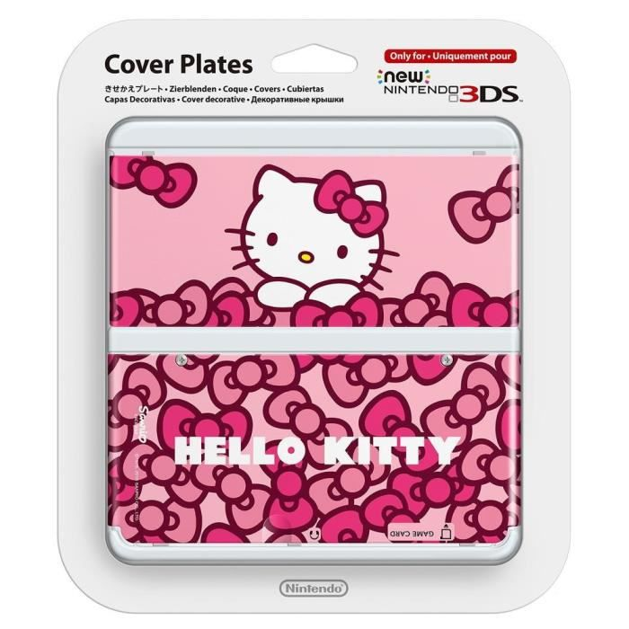 Coque New 3DS - Hello Kitty