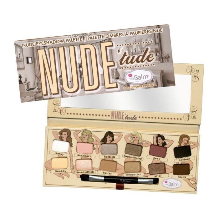 PALETTE DE MAQUILLAGE  Palette d'ombres à paupières - Nude Tude - The Bal