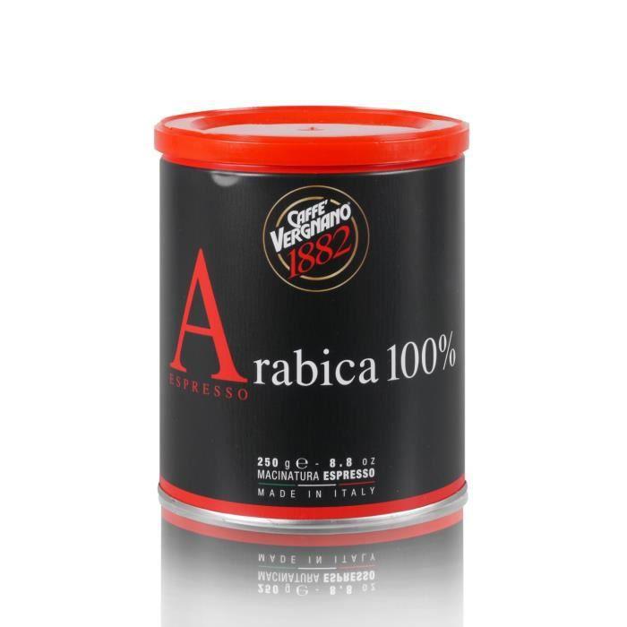CAFÉ Caffè Vergnano Espresso 100% Arabica - 250g moulu