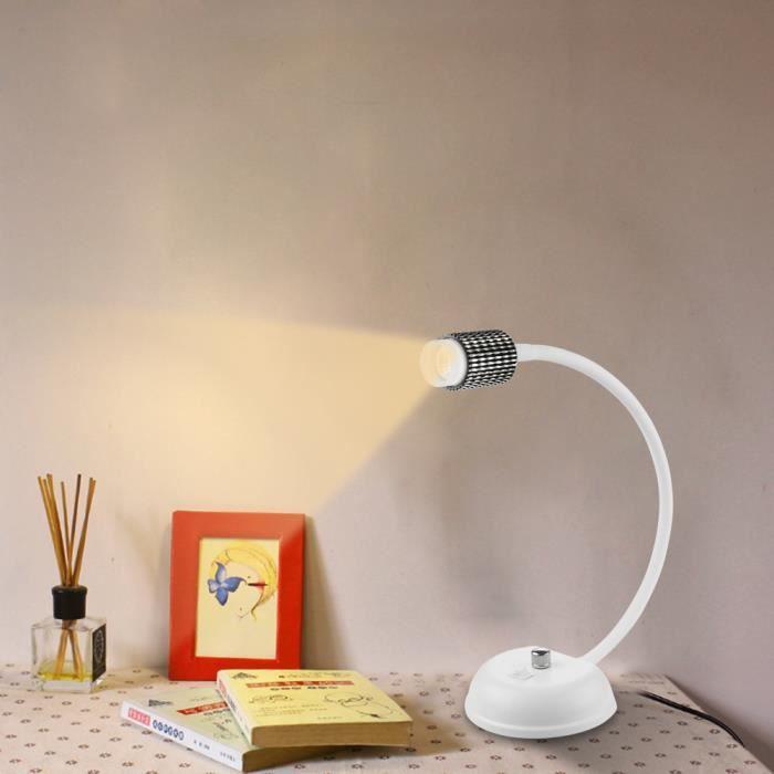 lampe de chevet flexible achat vente lampe de chevet flexible pas cher cdiscount. Black Bedroom Furniture Sets. Home Design Ideas