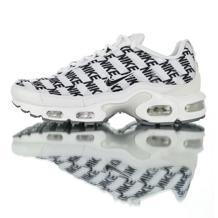 Baskets Nike Air Max Plus Tuned 1 Blanc Homme Running Chaussures
